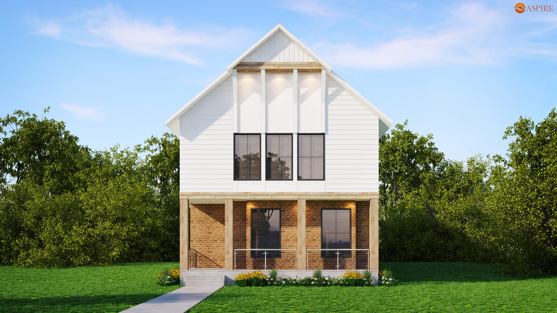 Custom home builder in calgary home renovations by aspire for Exterior home renovations calgary