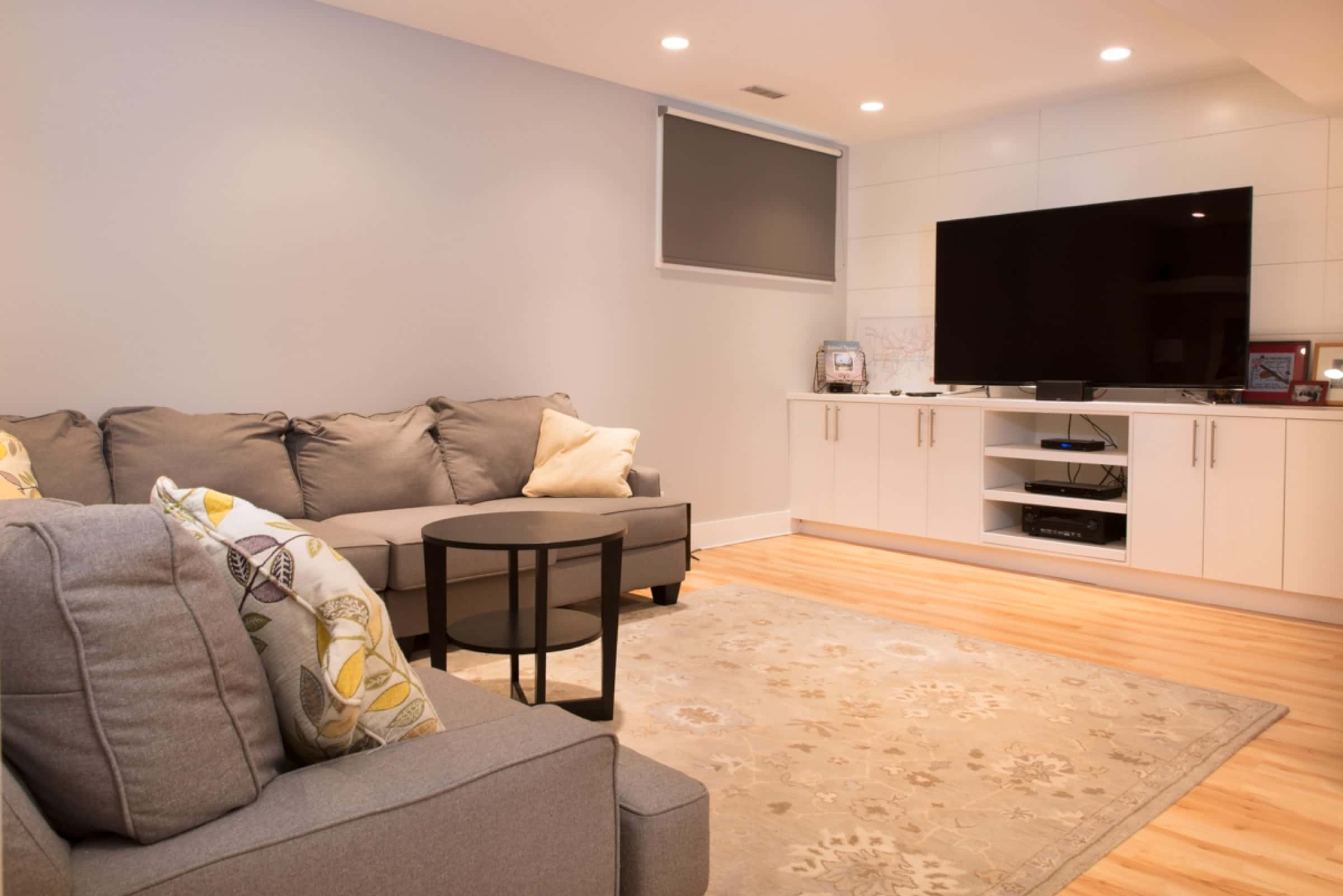 Quality basement development in calgary home renovations for Quality basement
