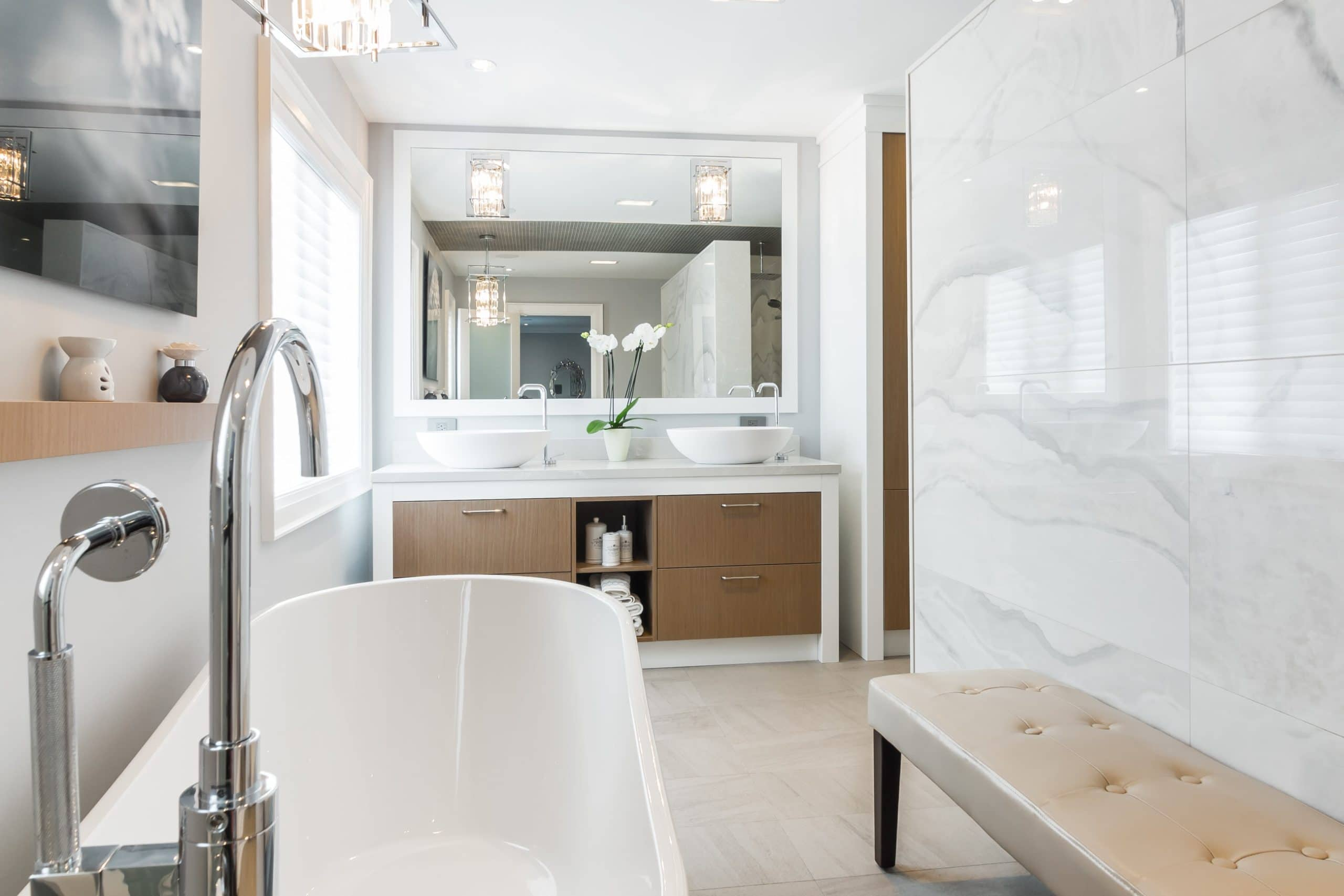 One Of A Kind Bathroom Renovations In Calgary Home Renovations By - Alenco bathroom remodel