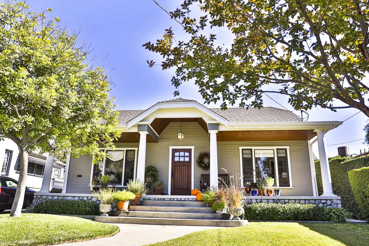 Craftsman Bungalow House